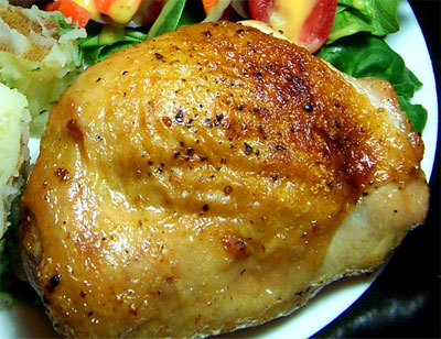 Oven-Baked Chicken Thigh