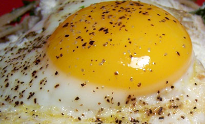 Fried Egg, Up Close