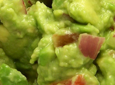 Extreme Guacamole Close-up!