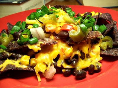Gooey Cheese, Crunchy Chips, Crisp Veggies