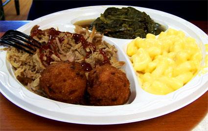 Sooey's Pulled Pork BBQ Platter