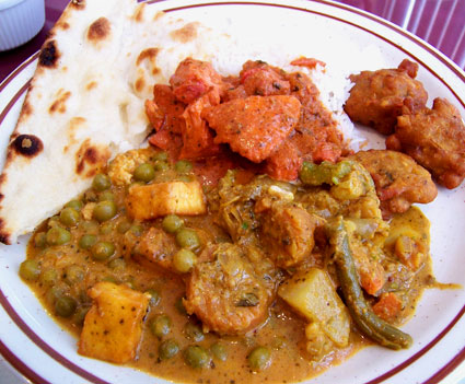 A Feast of Flavorful Indian Food!
