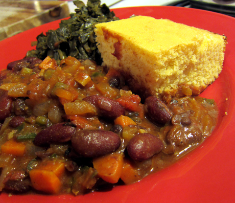Southern Vegetarian Meal